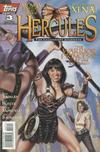 Cover for Hercules: The Legendary Journeys (Topps, 1996 series) #3 [Art Cover]