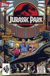 Cover for Jurassic Park (Topps, 1993 series) #4