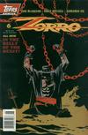 Cover for Zorro (Topps, 1993 series) #6 [Newsstand]