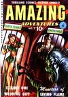 Cover for Amazing Adventures (Ziff-Davis, 1950 series) #2