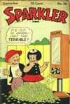 Cover for Sparkler Comics (United Features, 1941 series) #v4#12 (36)