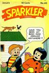 Cover for Sparkler Comics (United Features, 1941 series) #v5#4 (40)