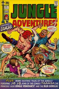 Cover Thumbnail for Jungle Adventures (Skywald, 1971 series) #1