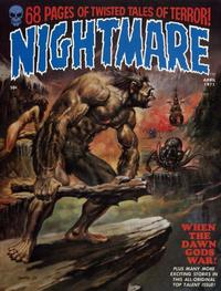 Cover Thumbnail for Nightmare (Skywald, 1970 series) #3