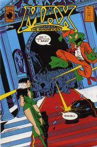 Cover for Max the Magnificent (Slave Labor, 1987 series) #1