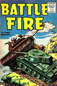 Cover Thumbnail for Battle Fire (Stanley Morse, 1955 series) #2