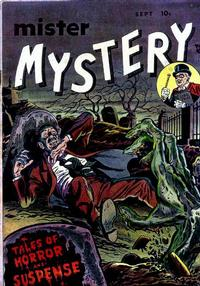 Cover Thumbnail for Mister Mystery (Stanley Morse, 1951 series) #1