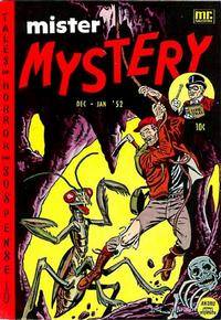 Cover Thumbnail for Mister Mystery (Stanley Morse, 1951 series) #3