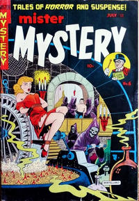 Cover Thumbnail for Mister Mystery (Stanley Morse, 1951 series) #6
