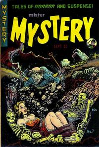 Cover Thumbnail for Mister Mystery (Stanley Morse, 1951 series) #7