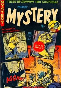 Cover Thumbnail for Mister Mystery (Stanley Morse, 1951 series) #9