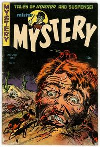 Cover Thumbnail for Mister Mystery (Stanley Morse, 1951 series) #11