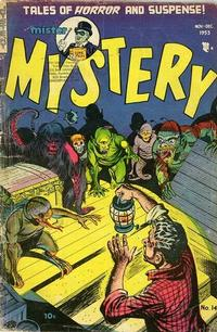 Cover Thumbnail for Mister Mystery (Stanley Morse, 1951 series) #14