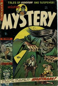 Cover Thumbnail for Mister Mystery (Stanley Morse, 1951 series) #15