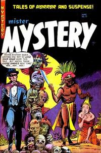 Cover Thumbnail for Mister Mystery (Stanley Morse, 1951 series) #17