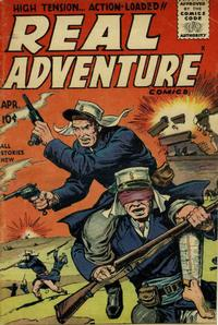 Cover Thumbnail for Real Adventure Comics (Stanley Morse, 1955 series) #1