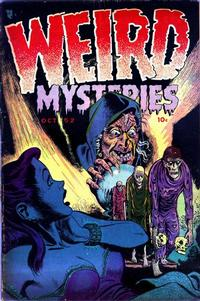 Cover Thumbnail for Weird Mysteries (Stanley Morse, 1952 series) #1