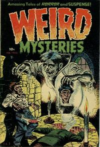 Cover Thumbnail for Weird Mysteries (Stanley Morse, 1952 series) #3