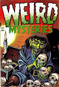 Cover Thumbnail for Weird Mysteries (Stanley Morse, 1952 series) #7