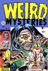 Cover for Weird Mysteries (Stanley Morse, 1952 series) #9