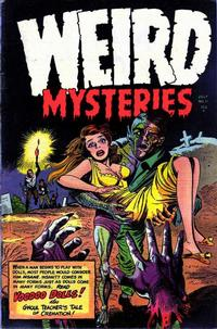 Cover Thumbnail for Weird Mysteries (Stanley Morse, 1952 series) #11