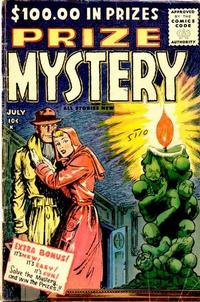Cover Thumbnail for Prize Mystery (Stanley Morse, 1955 series) #2