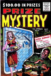 Cover Thumbnail for Prize Mystery (Stanley Morse, 1955 series) #3