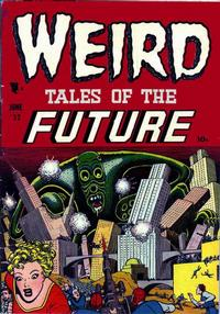 Cover Thumbnail for Weird Tales of the Future (Stanley Morse, 1952 series) #2