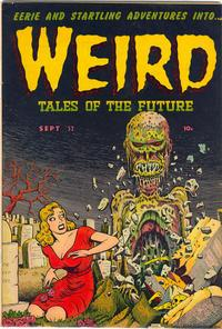 Cover Thumbnail for Weird Tales of the Future (Stanley Morse, 1952 series) #3