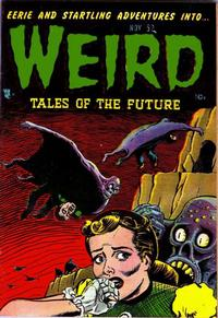 Cover Thumbnail for Weird Tales of the Future (Stanley Morse, 1952 series) #4