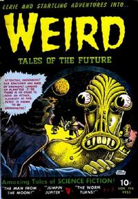 Cover Thumbnail for Weird Tales of the Future (Stanley Morse, 1952 series) #5