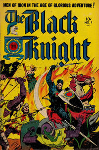 Cover Thumbnail for The Black Knight (Toby, 1953 series) #1