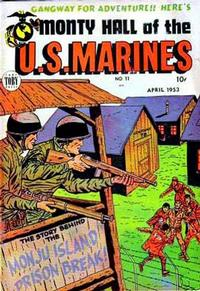 Cover Thumbnail for Monty Hall of the U.S. Marines (Toby, 1951 series) #11