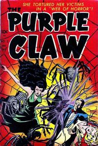 Cover Thumbnail for The Purple Claw (Toby, 1953 series) #2
