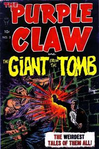 Cover Thumbnail for The Purple Claw (Toby, 1953 series) #3