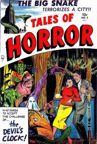 Cover Thumbnail for Tales of Horror (Toby, 1952 series) #3