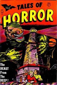 Cover Thumbnail for Tales of Horror (Toby, 1952 series) #7