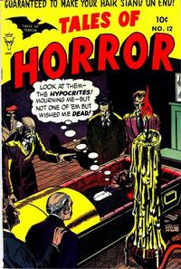 Cover Thumbnail for Tales of Horror (Toby, 1952 series) #12
