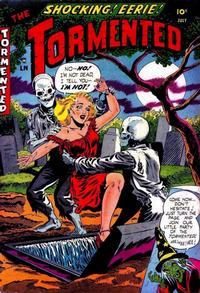 Cover Thumbnail for The Tormented (Sterling, 1954 series) #1