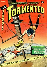 Cover Thumbnail for The Tormented (Sterling, 1954 series) #2