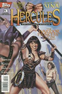 Cover Thumbnail for Hercules: The Legendary Journeys (Topps, 1996 series) #3 [Art Cover]