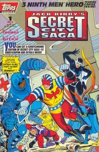 Cover Thumbnail for Jack Kirby's Secret City Saga (Topps, 1993 series) #1