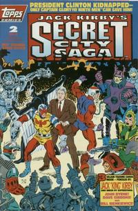 Cover Thumbnail for Jack Kirby's Secret City Saga (Topps, 1993 series) #2