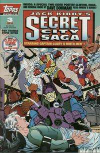 Cover Thumbnail for Jack Kirby's Secret City Saga (Topps, 1993 series) #3