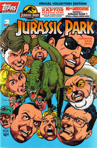 Cover Thumbnail for Jurassic Park (Topps, 1993 series) #2 [Special Collectors Edition]