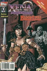Cover Thumbnail for Xena: Warrior Princess: Bloodlines (Topps, 1998 series) #1 [Art Cover]