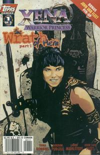 Cover Thumbnail for Xena: Warrior Princess: The Wrath of Hera (Topps, 1998 series) #1 [Art Cover]
