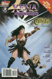 Cover Thumbnail for Xena: Warrior Princess vs Callisto (Topps, 1998 series) #3 [Art Cover]
