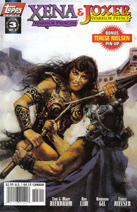 Cover for Xena: Warrior Princess/Joxer: Warrior Prince (Topps, 1997 series) #3 [Photo Cover]