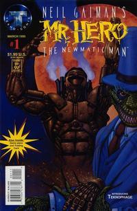 Cover Thumbnail for Neil Gaiman's Mr. Hero - The Newmatic Man (Big Entertainment, 1995 series) #1